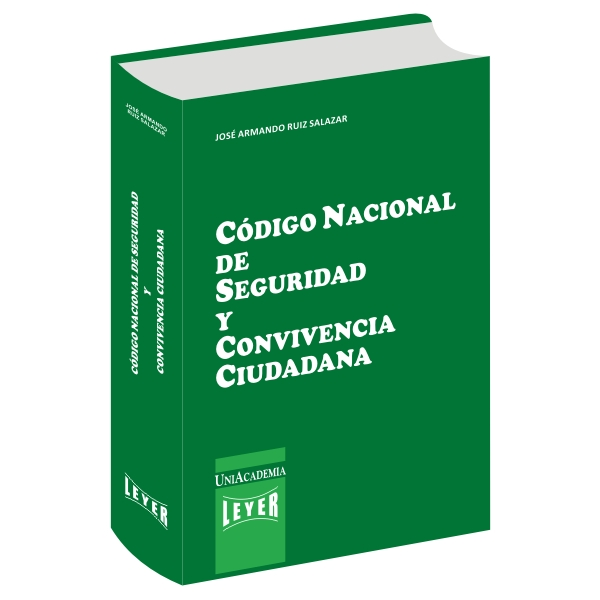 </br>Código Nacional de Seguridad y Convivencia Ciudadana Básico