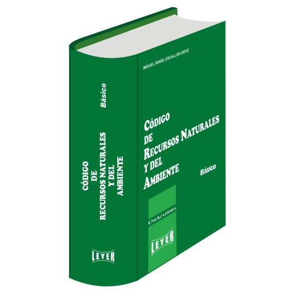 </br>Código de Recursos Naturales y del Ambiente Básico