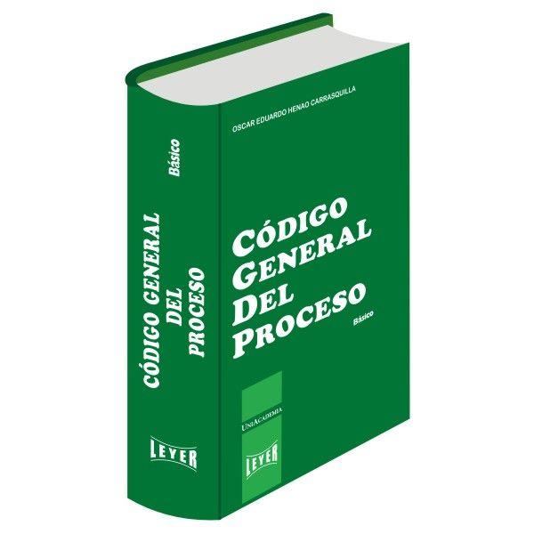 </br>Código General del Proceso Básico
