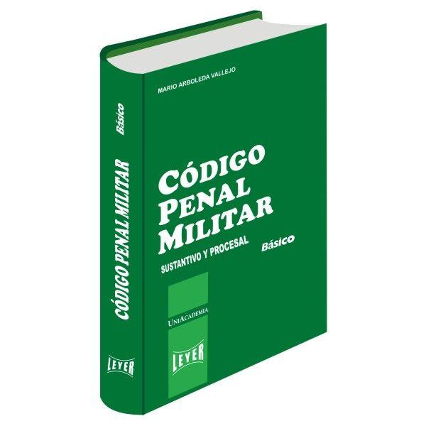 </br>Código Penal Militar Básico