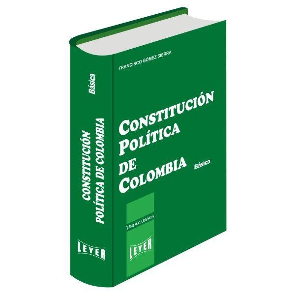 </br>Constitución Política de Colombia Básica</br>