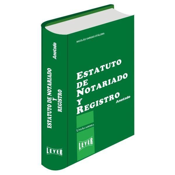 </br>Estatuto de Notariado y Registro Básico</br>