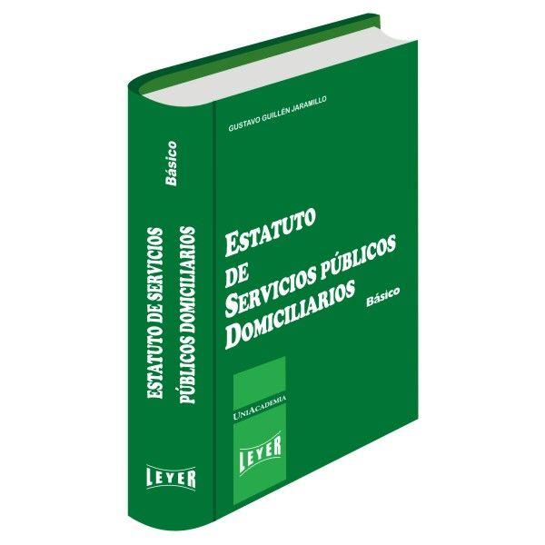</br>Estatuto de Servicios Públicos Domiciliarios Básico